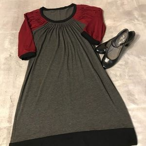 Good used condition color block dress